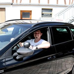 Fahrlehrer Andre Gaub